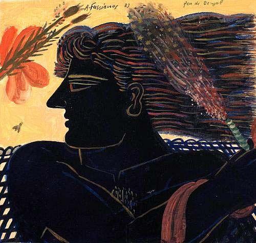 Fassianos Paintings | pinkpagodastudio: The Art of Alecos Fassianos