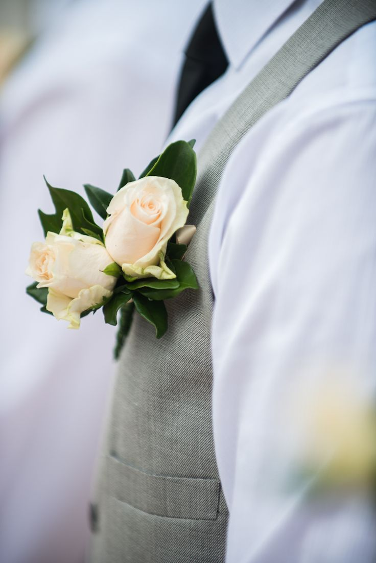 great groom button hole Wedding detail Stradbroke Island Photography