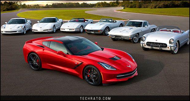 مروری بر بهترین شورولت کوروت های تاریخ Chevrolet Corvette