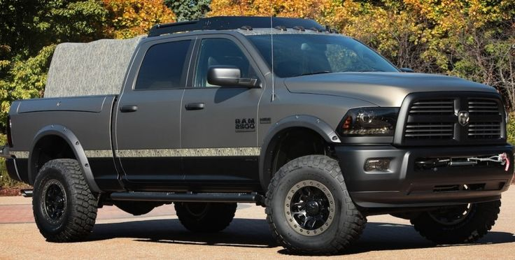 Ram's Outdoorsman is Ready for SEMA