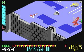 Zaxxon, was a very cool game