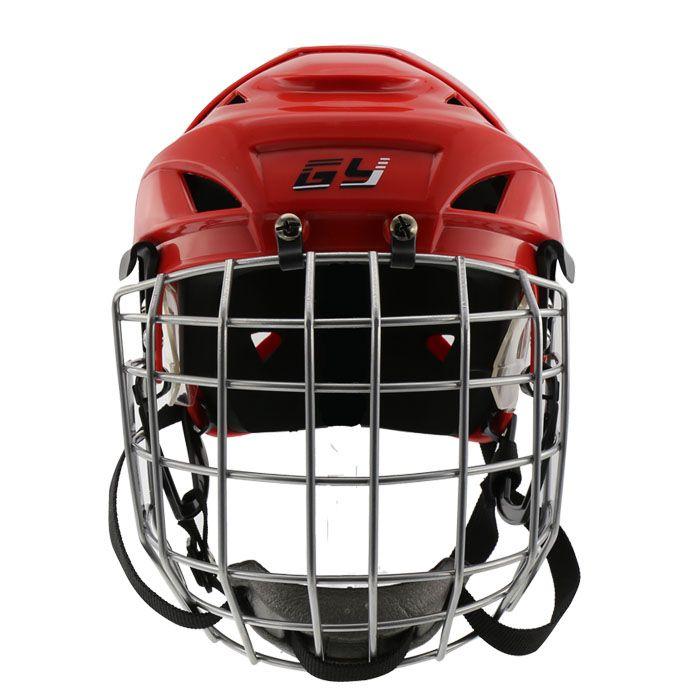 FREE SHIPPING CE approved PP EVA Ice hockey helmet hockey sport helmet with mask field hockey helmet For Kids And Adlut
