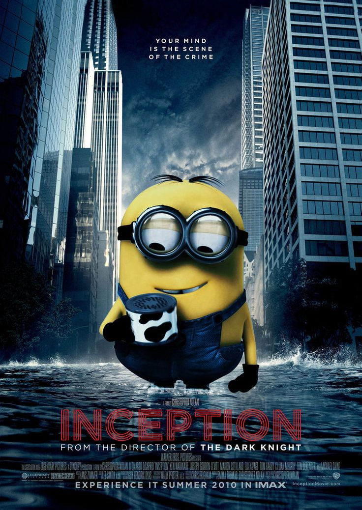 Inception Poster - Minion by ~Alecx8 on deviantART
