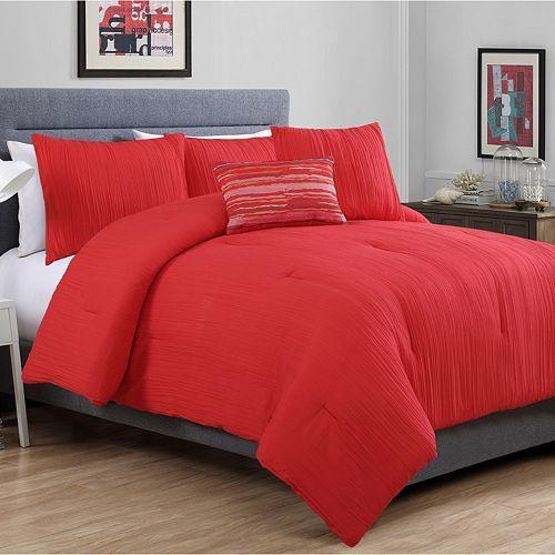 VCNY Crinkle Comforter Set