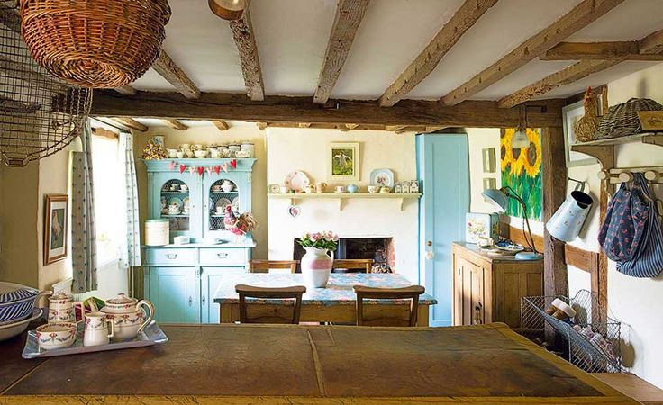 Found On Cath Kidston S Fb Page In Her Dream Room In A: 17 Best Images About English Cottage Kitchens On Pinterest