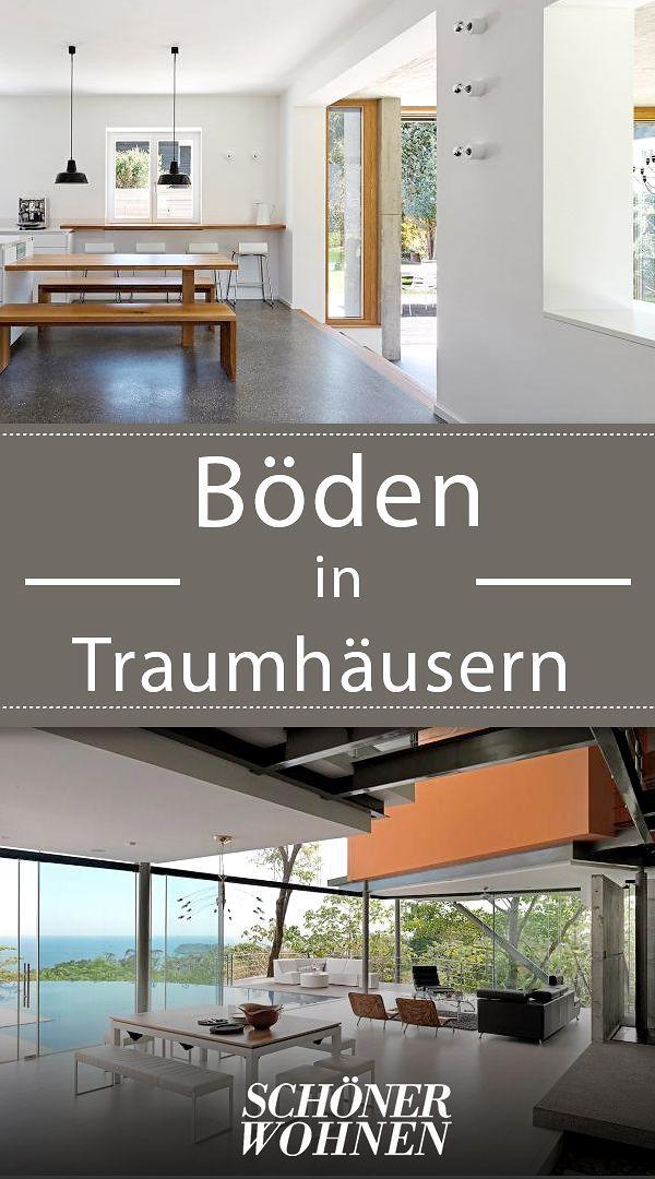 Schicke böden bodenbeläge in architektenhäusern