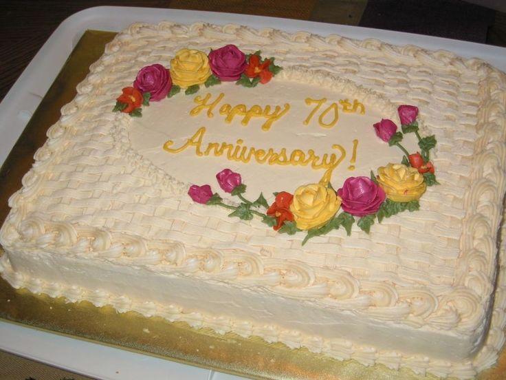 Jubiläumsblatt-Torte Diese Torte habe ich für die Mini-Hochzeitstorte gemacht, die ich gerade hochgeholt habe …   – Birthday ideas