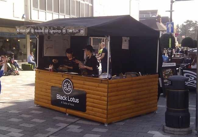 Big Kahuna Street Food Stall - Medium