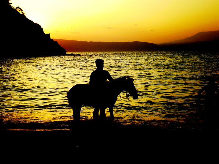 Horse riding on Thassos....