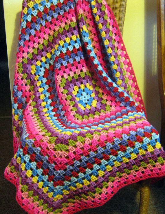 Serendipity Granny Square Crochet Blanket Pinks by Thesunroomuk priced at $187 is this a reasonable price?