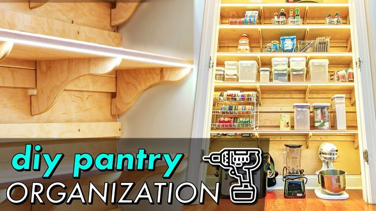 DIY PANTRY ORGANIZATION! Building French Cleat Pantry