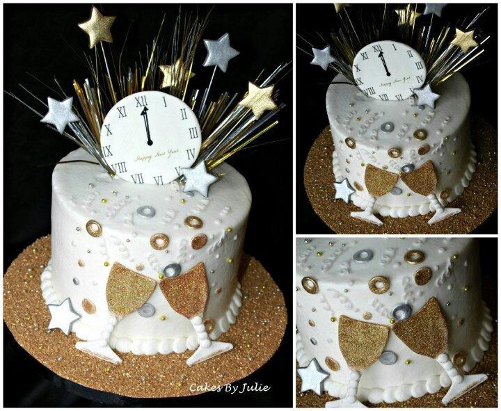 Happy new year cake!