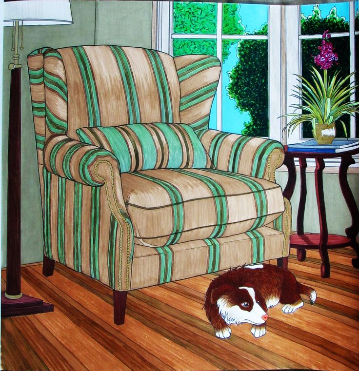 From Come Home To Color Created By Debbie Macomber Colored Jules Cote Used A Variety Of Water Based Markers