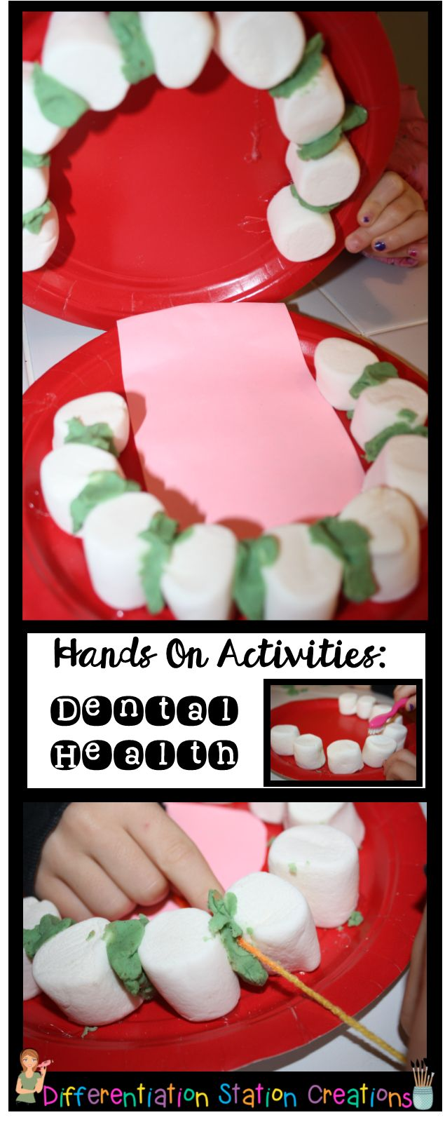 Ad C D B Cb D on dental health and teeth preschool activities lessons crafts