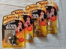 Star Wars Action Masters Die Cast Collectibles Luke Darth Vader C3PO R2D2 NIB
