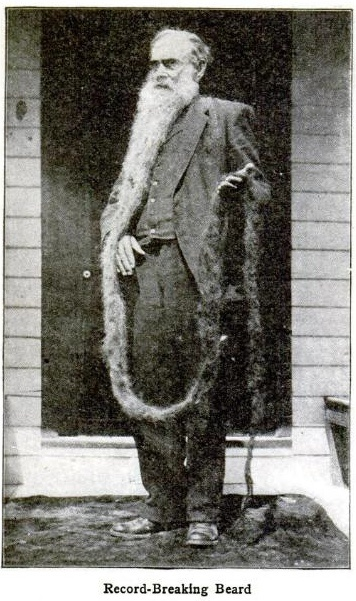 Totally impressed....don't even get me started!  LOL  Record-Breaking Beard ca. 1910.