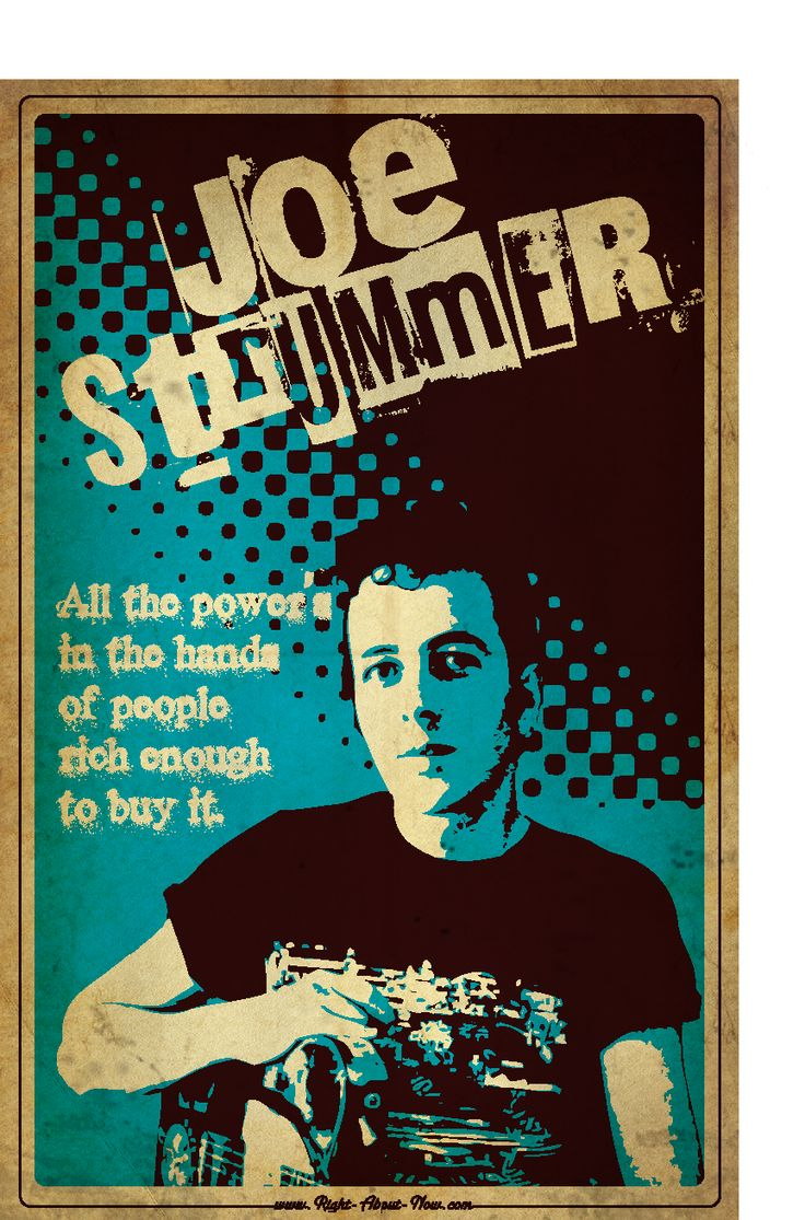 joe strummer quotes - Google Search
