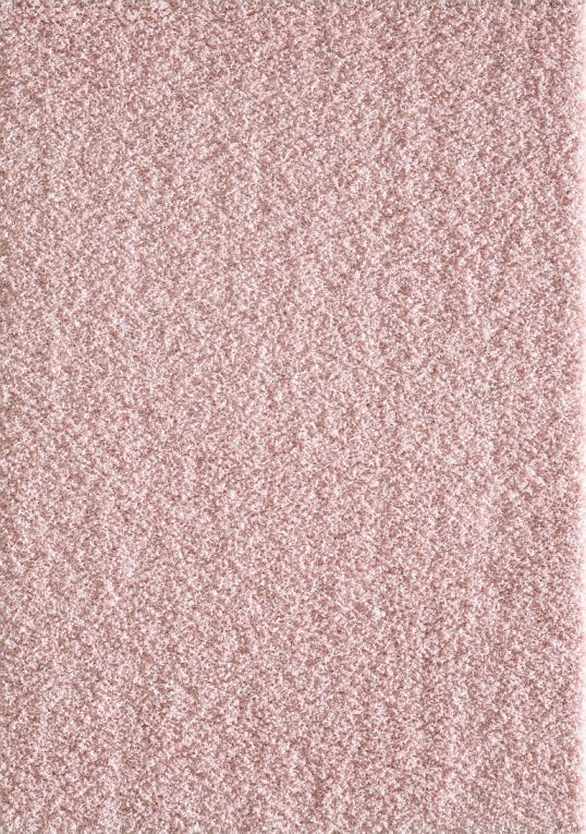 Vloerkleed Tapijt Loca L. Roze Hoogpolig -160x230CM