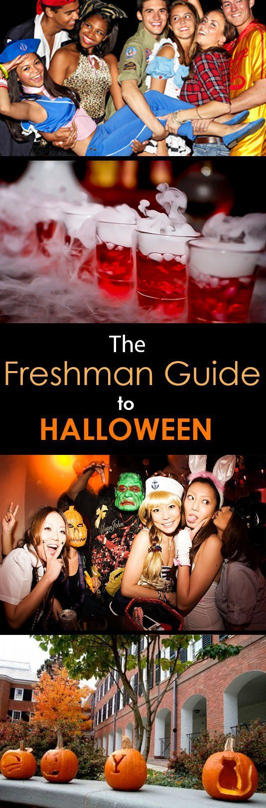 I love halloween! - The Freshman Guide to Halloween in College!