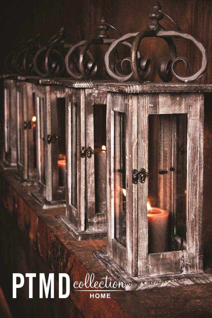 Wood White Collection - Lanterns