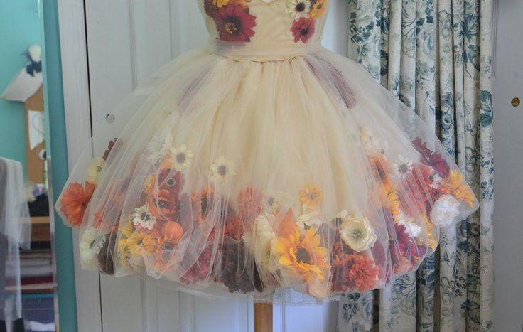 Making a Flower Fairy Dress – Part one