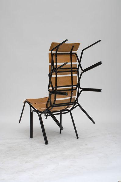 -Martino Gamper-  '100 jours... 100 chaises'