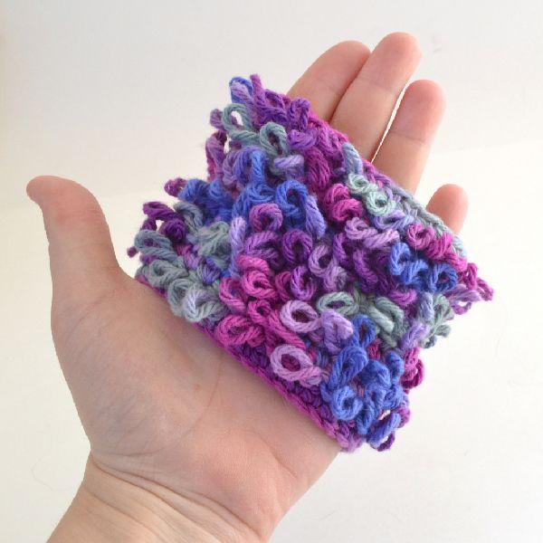 Loop Crochet Stitch Tutorial - Dream a Little Bigger
