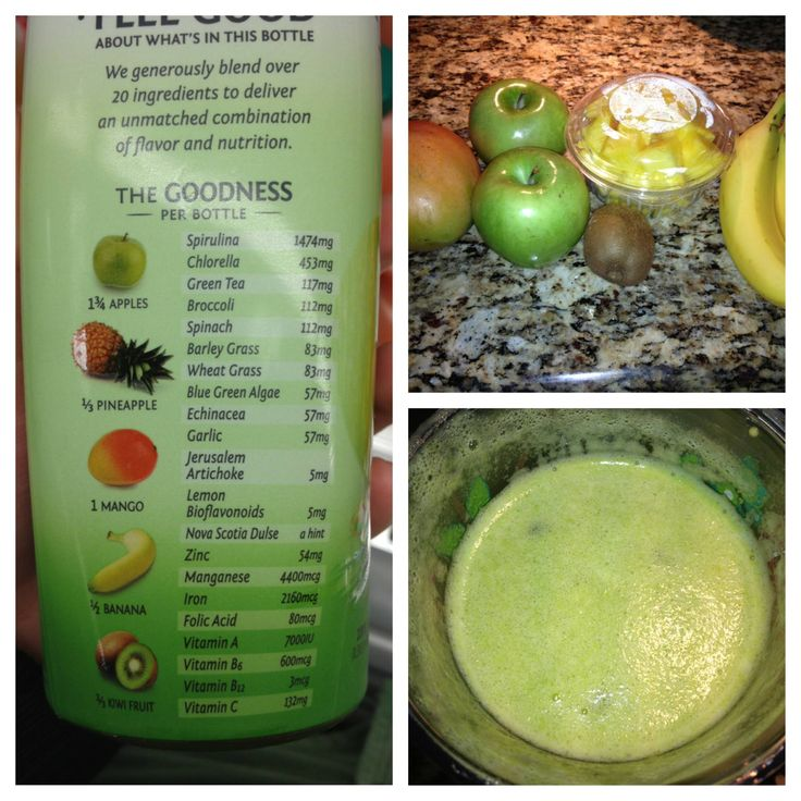 Recreated the Bolthouse Farms Green Goodness juice at home with fresh produce--awesome results! - Imgur