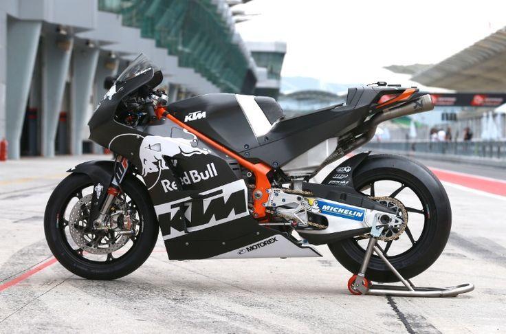 Smith's KTM, Sepang MotoGP test, February 2017