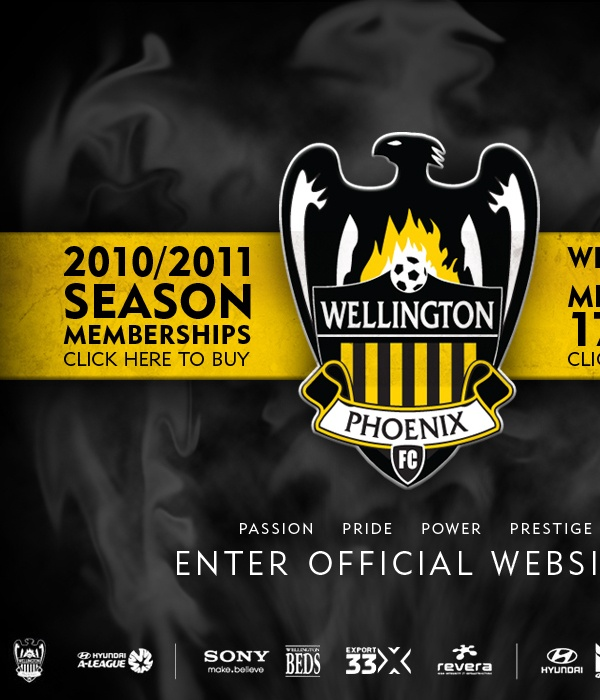 Wellington Phoenix FC - Splash on Behance