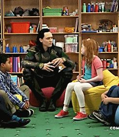 loki and children comedy central central - Google Search