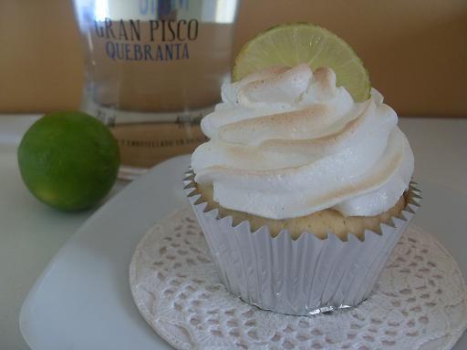 Cupcakes de Pisco Sour