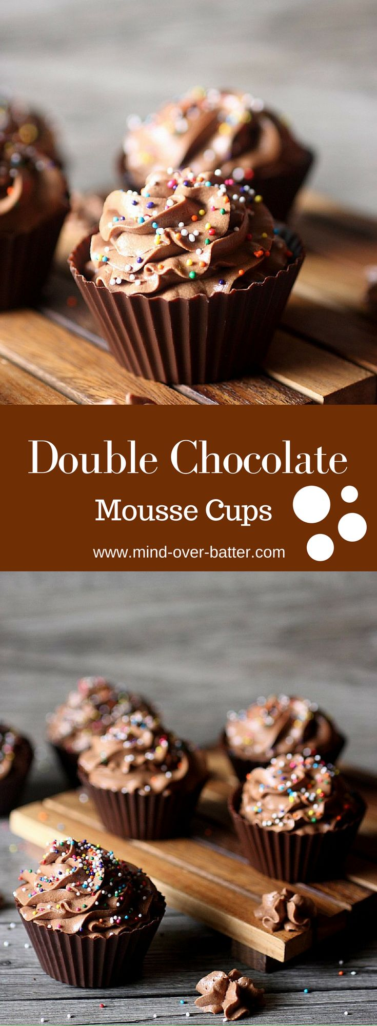 Double Chocolate Mousse Cups www-mind-over-batter.com