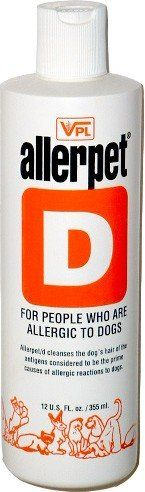 Allerpet/d - 12 oz - For People That Are Allergic to Dogs - http://www.thepuppy.org/allerpetd-12-oz-for-people-that-are-allergic-to-dogs-2/
