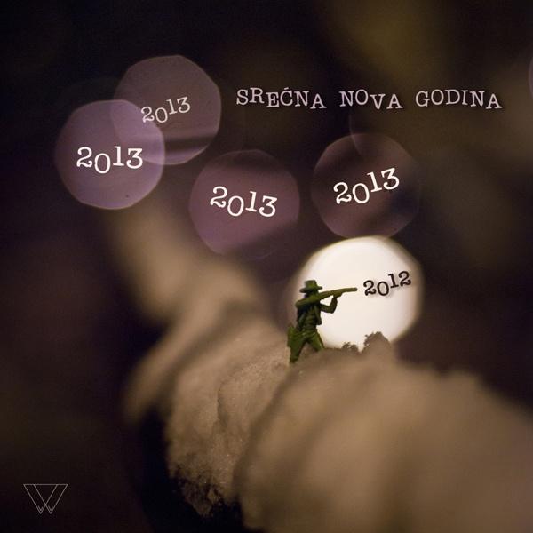 NEW YEAR Project by Marija Konjikusic, via Behance