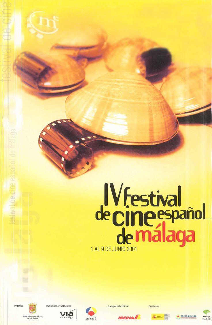 Cartel Festival Cine Malaga 2001