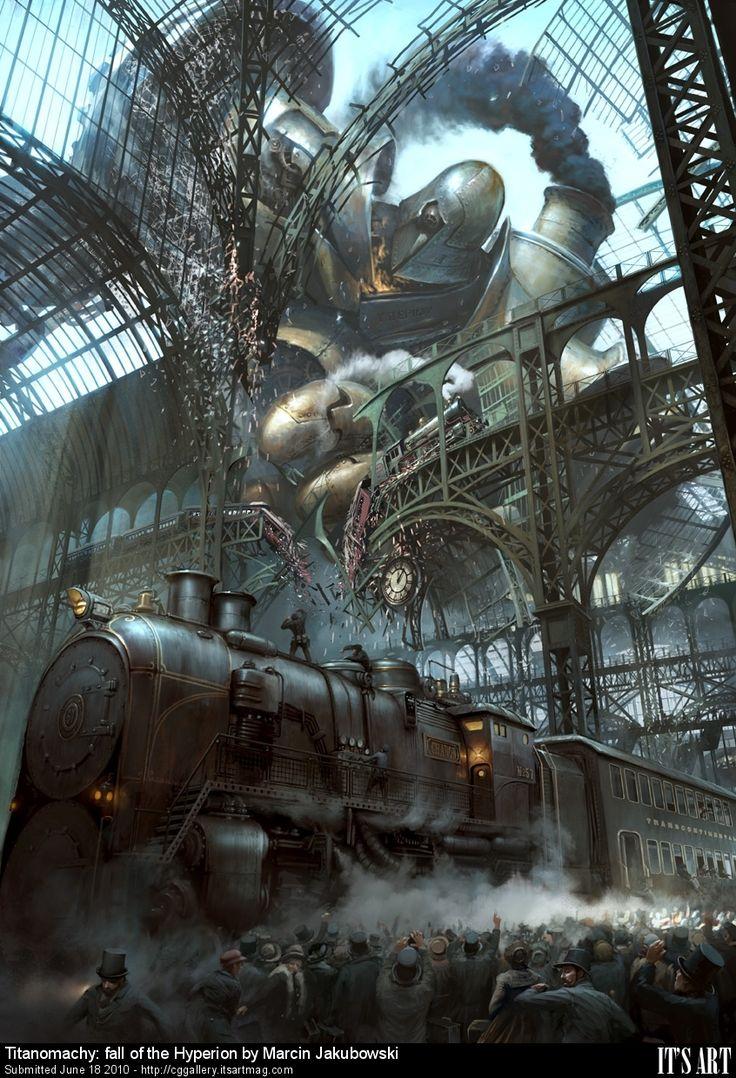 Steampunk artwork created by Marchin Jakubowski