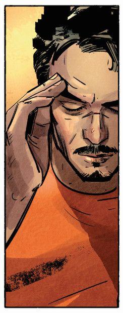 Tony Stark International Iron Man, Maleev
