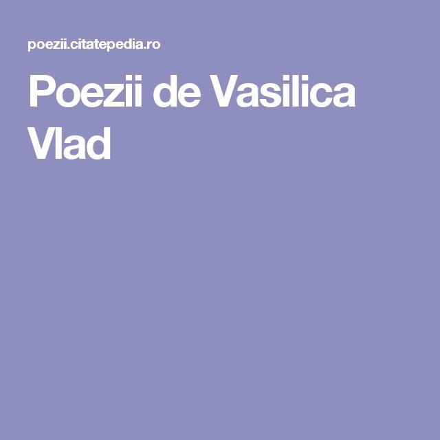 Poezii de Vasilica Vlad