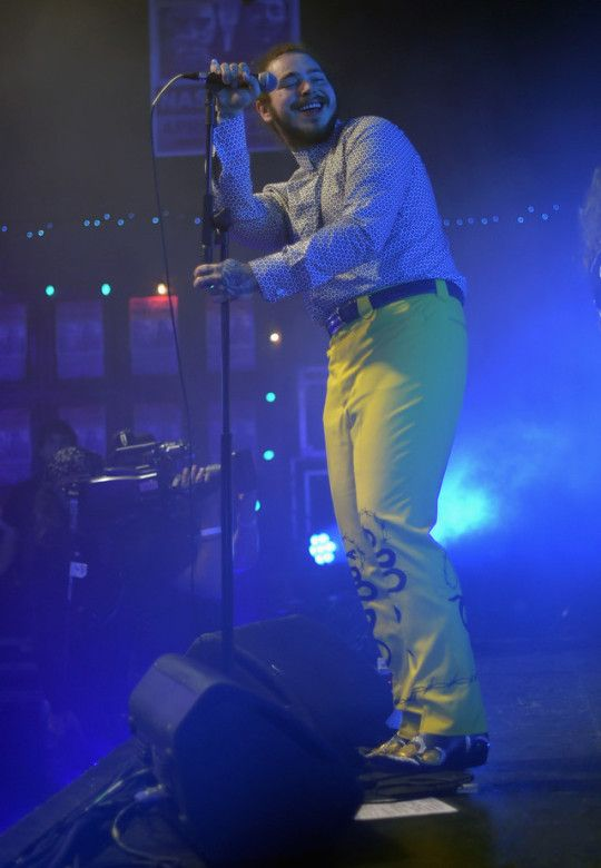 Post Malone Performs For Bud Light's Dive Bar Tour At The
