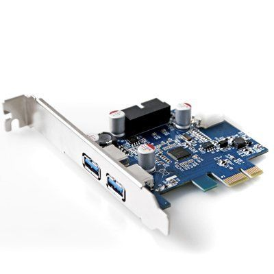 GMYLE (TM) PCI-Express USB 3.0 2 Ports with 4-Pin Molex Power & 20-Pin Connector NEC D720202 Chipset Control Card Adapter by GMYLE. $8.99. -Ideal connection for hard disk drives, digital cameras, scanners, printers, external CD/DVD/Blu-ray writers, flash memory drives and etc.  Specifications   -Chipset: NEC D720202 -20-pin connector -4-pin molex power -Super-speed 5Gbps transfer rate -Interface: 3.0 USB -Fully Plug-N-Play and Hot Swap compatible -Supports Windows XP/Server 2003/...Disks Drive, 4 Pin Molex, Nec D720202, Molex Power, Usb, Memories Drive, Cards Adaptations, 20 Pin Connector, Transfer Rate
