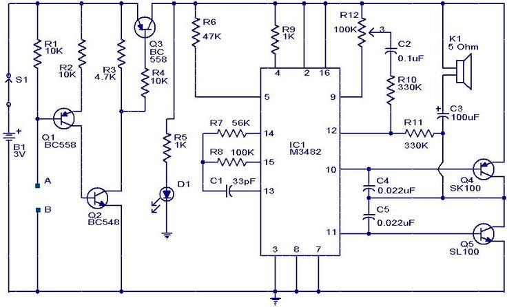 Pin Op Electronische Schema U0026 39 S