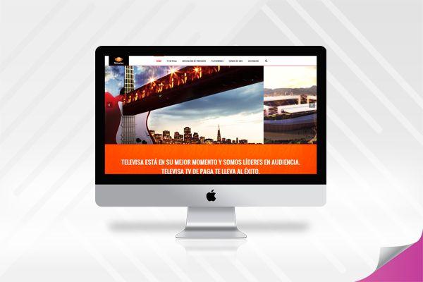Sitio Web / Website - Televisa TV de Paga