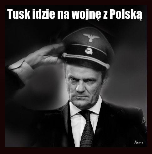 """Wszystkich zaskoczył dzisiejszy wpis na twitterze Przewodniczącego Rady Europejskiej Donalda Tuska. Tusk, który objął to stanowisko z woli Berlina i osobiście Angeli Merkel, w sposób jawny i bezczelny zaatakował legalnie wybrany rząd Polski: """"Alarm! Ostry spór z Ukrainą, izolacja w Unii Europejskiej, odejście od rządów prawa i niezawiłości sądów, atak na sektor pozarządowy i wolne media - strategia PiS czy plan Kremla?"""
