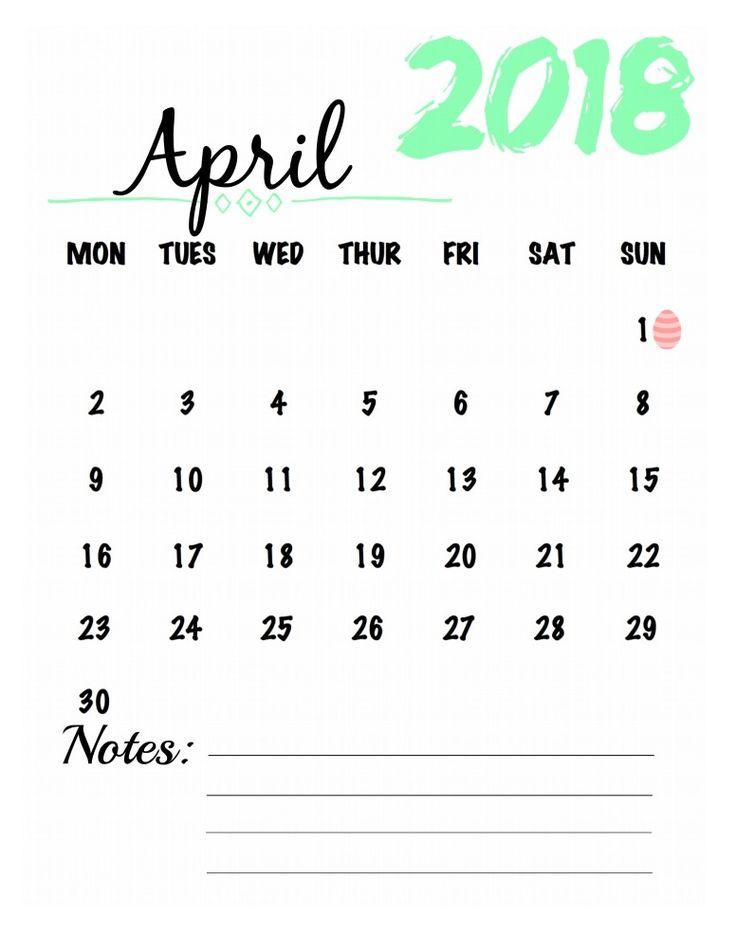 Best 25+ April calendar printable ideas on Pinterest 2015 - countdown calendar template