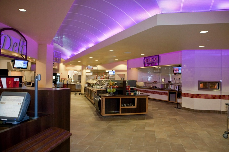 The Marketplace Student Services Dining Services College