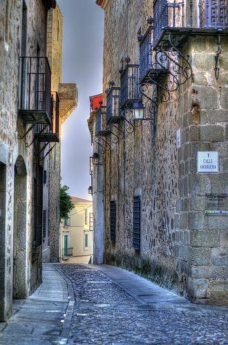 Calle Amargura, Cáceres, Spain