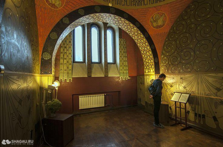 Музей Горького в особняке С. Рябушинского на Малой Никитской