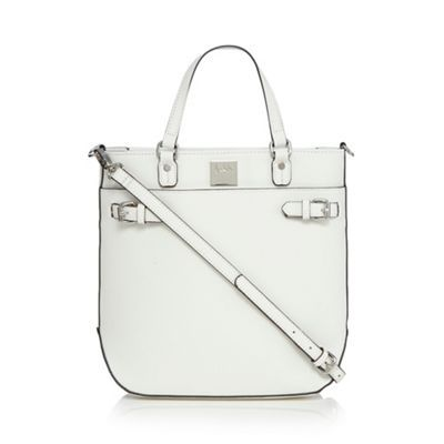 Principles by Ben de Lisi White textured tote bag | Debenhams