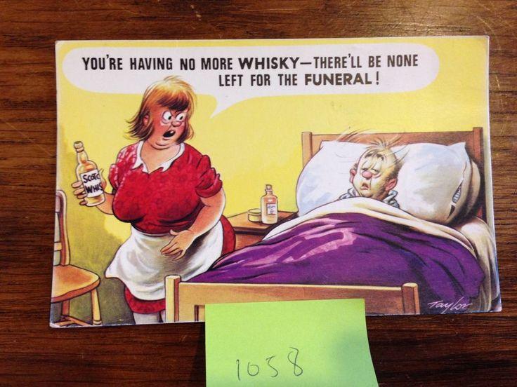 Saucy Cheeky Comic Seaside Bamforth Postcard Old English